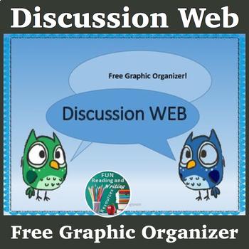 Free Discussion Web Graphic Organizer