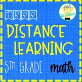 Free Distance Learning Fifth Grade Math for Families