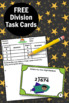 FREE Long Division Task Cards with No Remainders, Long Division Games