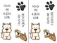 Free Doggie Bookmarks