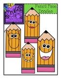 {Free} Doodle Face Pencil Clipart
