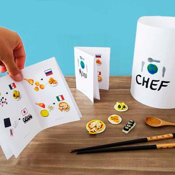 Free Dough-Food Menu Guide Printable