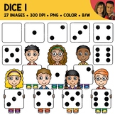 Digital Graphics - Free Dice Clipart
