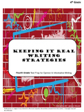 Free Download: 4th Grade Opinion Writing Planning Process Lesson
