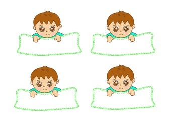 Free Download Boys & Girls Name Tags & Labels