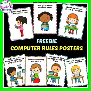 Free Download: Computer Rules for K-3