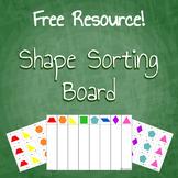 Free Download Geometry Shape Sorting Board