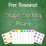 Free Download Geometry Shape Sorting Board