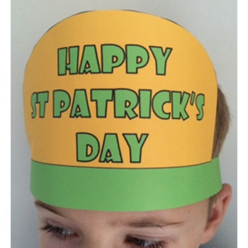 ** FREE DOWNLOAD ** Saint Patrick's Day Printable Hats