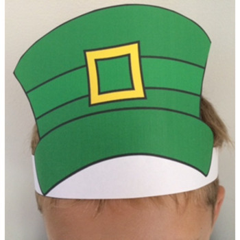 graphic about Printable Hats named Saint Patricks Working day Printable Hats Free of charge Down load