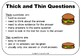 Free Download Thick and Thin Questions encourage higher or