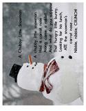 Free Downloadable Poem: A Chubby Little Snowman