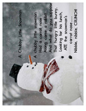 Free Downloadable Poem: A Chubby Little Snowman