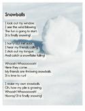 Free Downloadable Poem: Snowballs