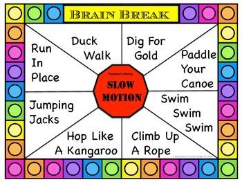 Free Downloads: Brain Break