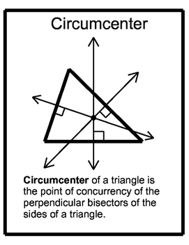Free Downloads - Centers of Triangles Posters