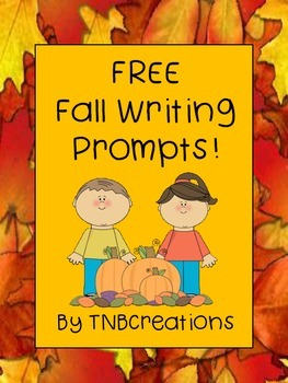 FREE Fall Writing Prompts