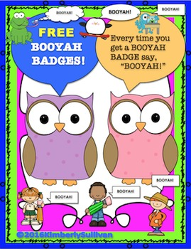 Free Downloads  Booyah Badges!