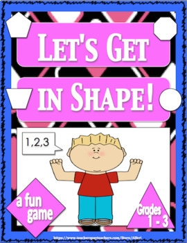 Free Downloads Shapes Math Game Addition Subtraction