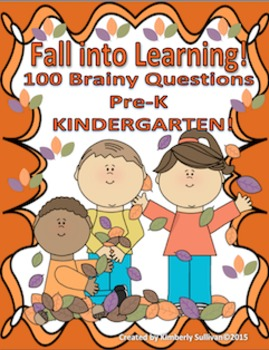Free Downloads Fall Task Cards for Kindergarten
