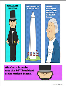 Free Downloads Valentine's Day President's Day Bookmarks!