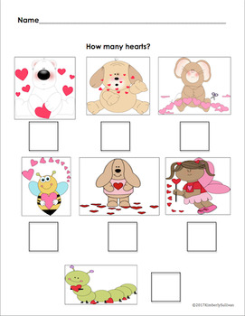 Free Downloads Valentine's Day printables Kindergarten