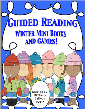 Free Downloads Winter Guided Reading Mini Book and Game! Kindergarten
