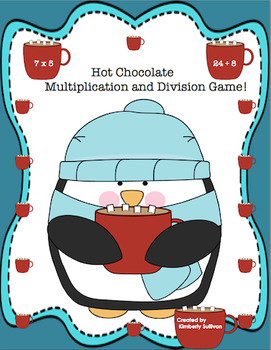 Free Downloads Winter Math Game Multiplication and Division Hot Chocolate