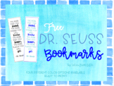 Free Dr.Seuss Bookmarks