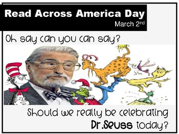 Free: Dr.Seuss Powerpowerpoint: Should we be celebrating him?