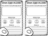 Free Dr. Seuss Recording Sheets {Green Eggs and Ham} {Oobleck} {Silly World}