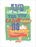 Dr Seuss - And Will You Succeed? Poster