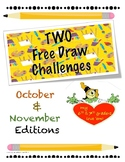 Free Draw Challenge Fall editiion