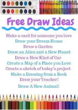 Free Draw Ideas!