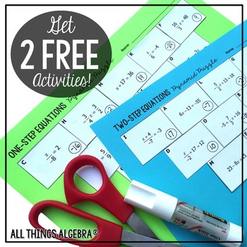 EXCLUSIVE Freebies and News from All Things Algebra by All Things ...