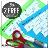 EXCLUSIVE Freebies and News from All Things Algebra