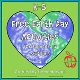 Free Earth Day Activities K-5