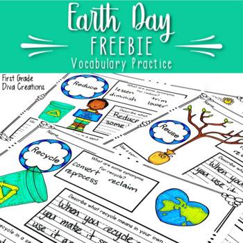 Earth Day Free Activities {Vocabulary Resource}