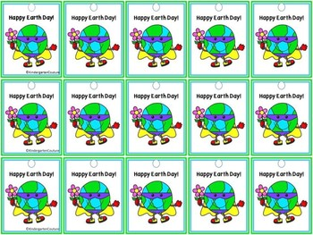 Free Earth Day Brag Tags