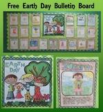 Free Earth Day Bulletin Board