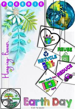 Free Earth Day – Hanging Banner Activity