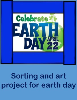 Free Earth day for preschoolers