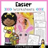 Easter Worksheets & Crafts