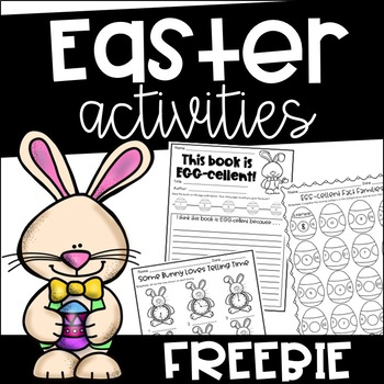 Free Easter Activity Packet {Print and Go}