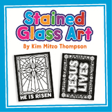 Easter Craft: Stained Glass Art