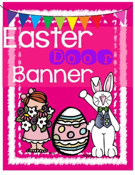 Free Easter Door Banner
