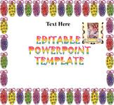 Easter - Editable PowerPoint Templates