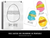 Free Easter Egg Colouring In Posters - Easter Art and Craf