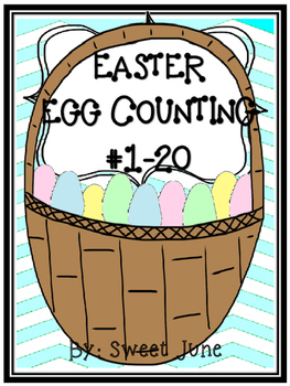 Free Easter Egg Counting Lesson