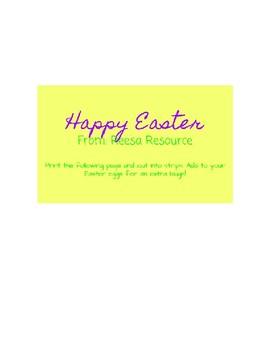 Free Easter Jokes